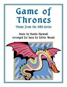 Glorieux Game Of Thrones Arranged For Harp Harpe Livre Neuf 000217275-afficher Le Titre D'origine Avec Une RéPutation De Longue Date
