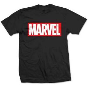 Marvel-Comics-Box-Logo-Official-Merchandise-T-Shirt-M-L-XL-Neu