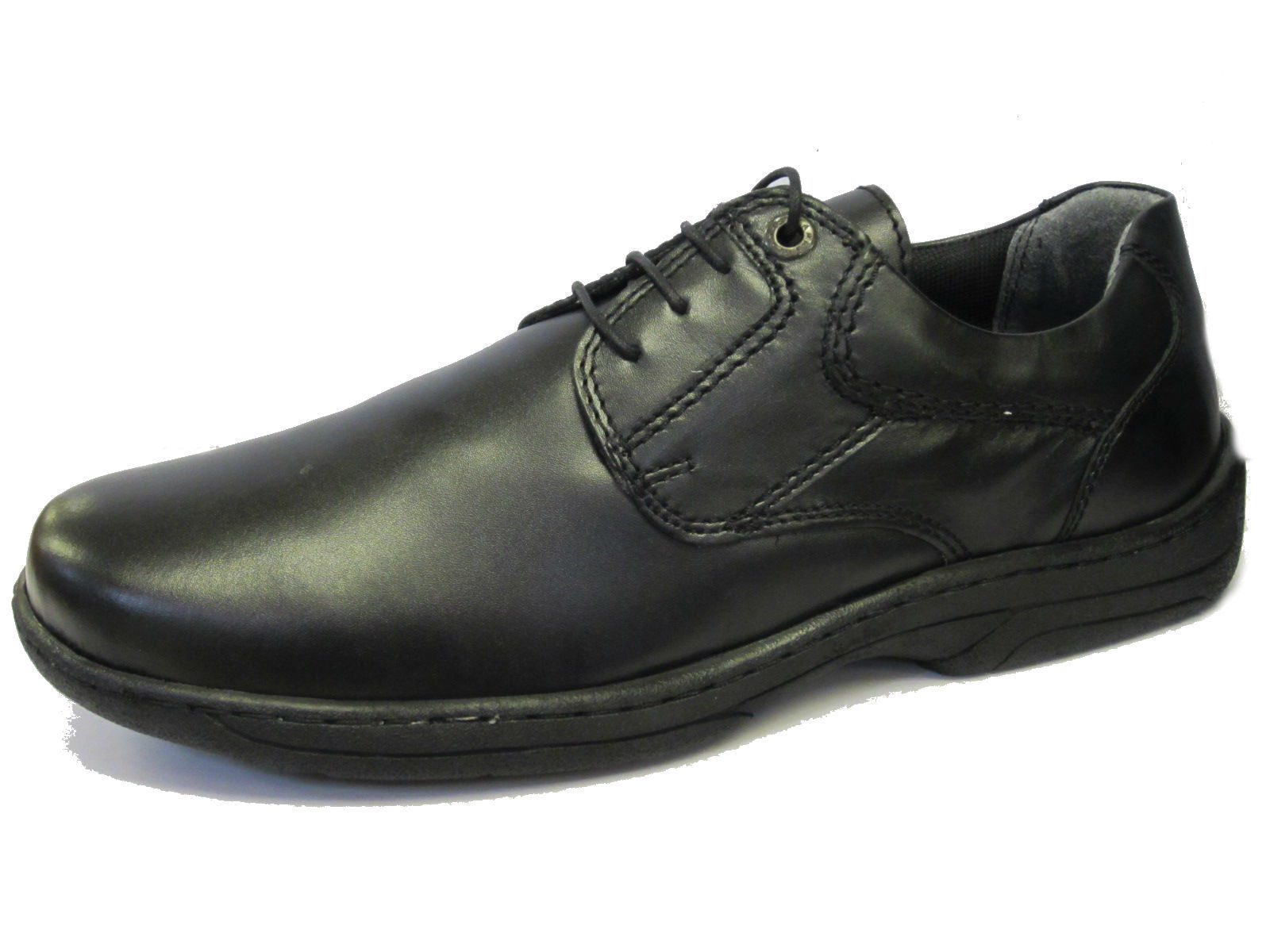Men's Strata Fall Clarks Black Lace Up shoes