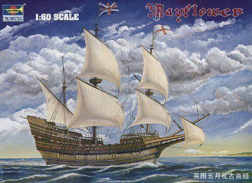 Mayflower 1 60 Plastic Model Kit TRUMPETER