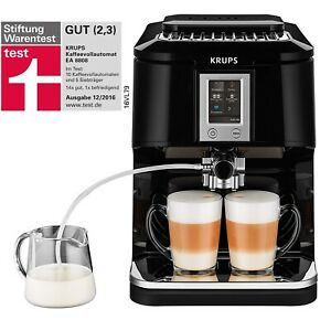 Krups-EA8808-Kaffeevollautomat-Two-in-One-Touch-Funktion-15-bar