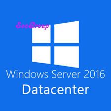 Windows Server 2016 Datacenter 64bit Genuine for sale online