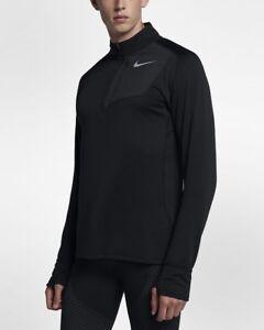 f61d2bd6 Nike Therma Sphere Element Men's Long Sleeve Half-Zip Running Top ...
