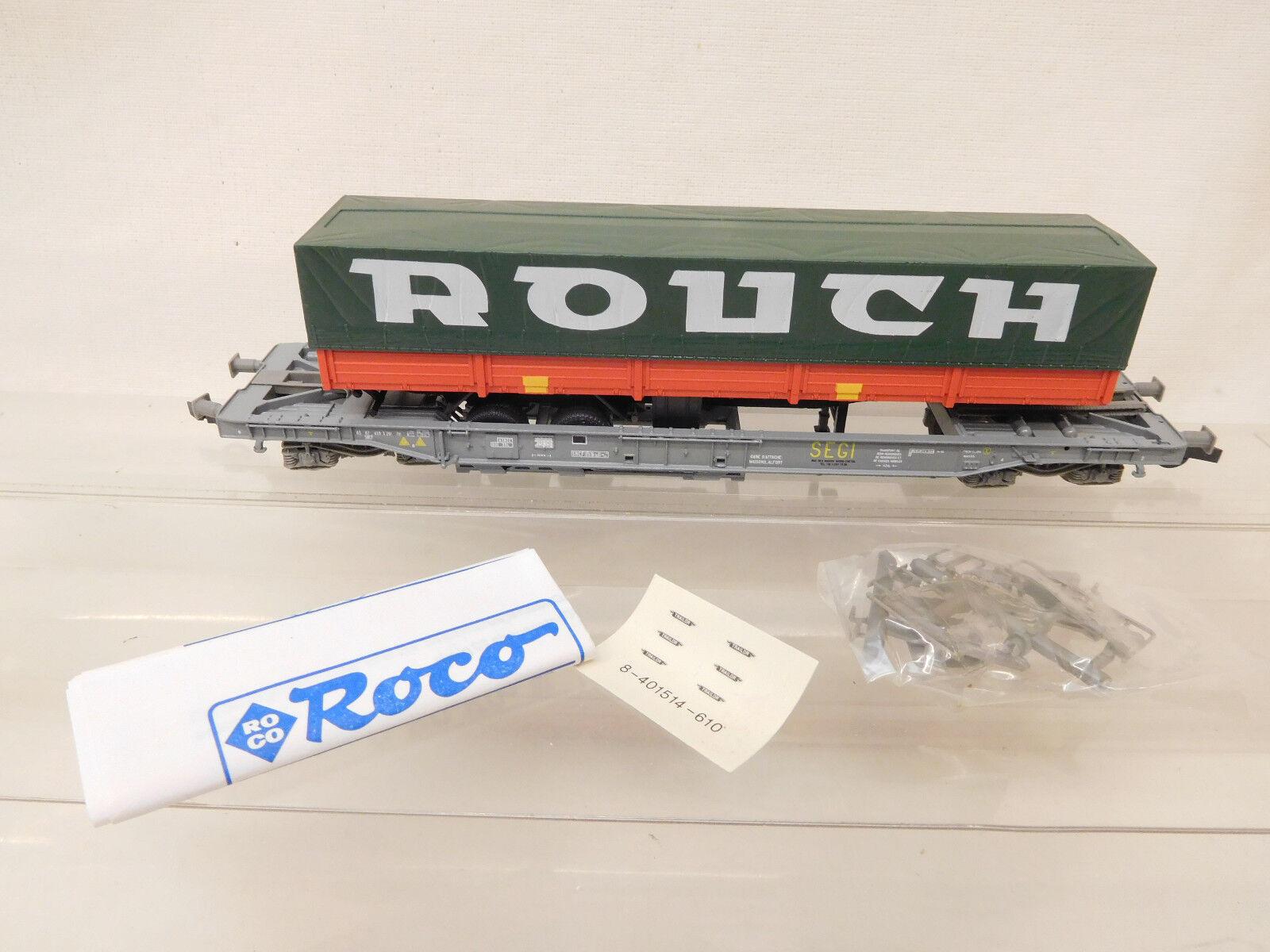MES-58460 Roco H0 Güterwagen SNCF mit Ladegut K-NEM sehr guter Zustand  | Spielzeugwelt, glücklich und grenzenlos