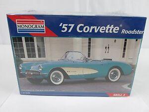 1995-Revell-Monogram-1-24-Scale-Model-039-57-CORVETTE-Roadster-1957-Corvette-SEALED