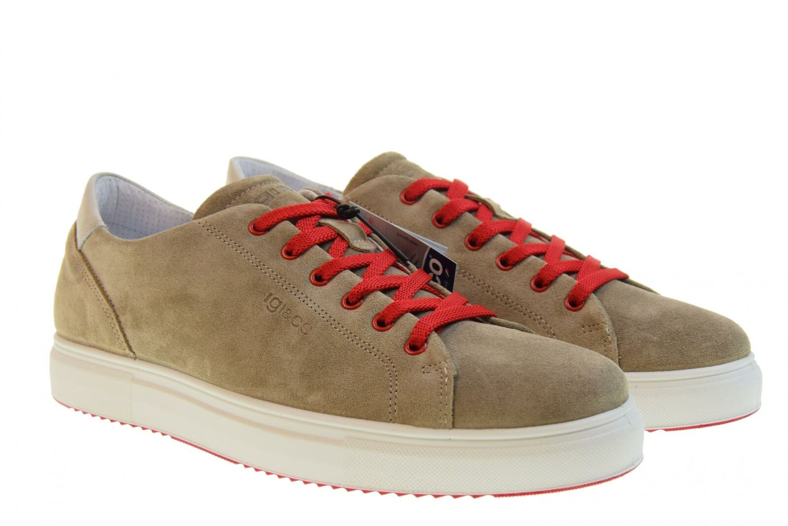Igi&Co P19u shoes men low sneakers 3132733 TORTORA