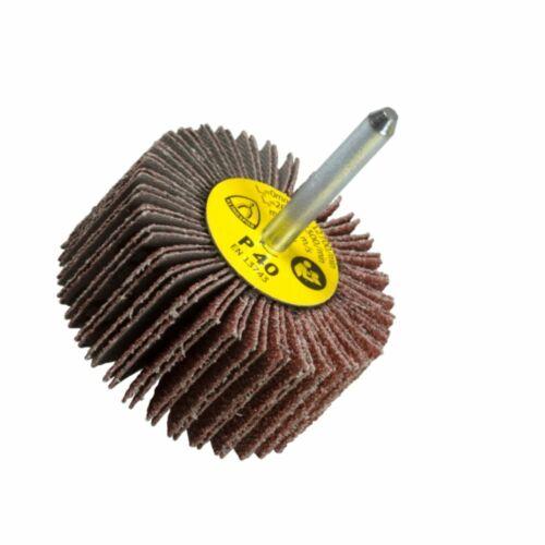 Schleifstift Schleifmop 10er Pck Klingspor-Fächerschleifer 40mm Schaft 6mm Ausw