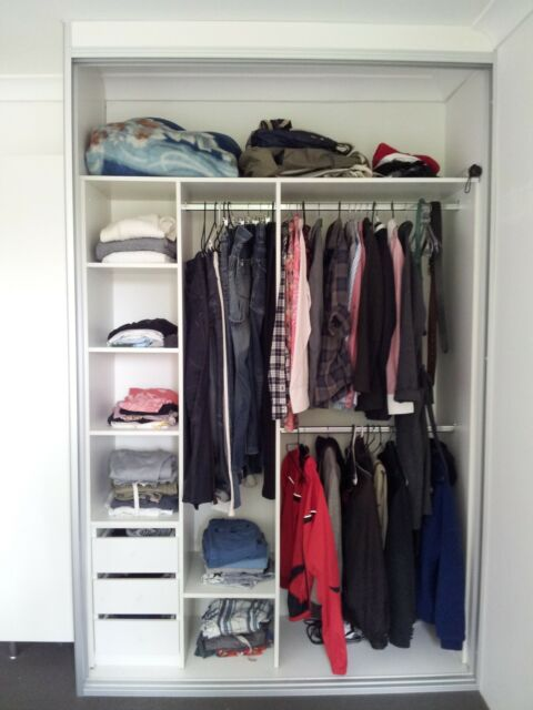 Built-in WARDROBE INTERIOR **made to measure** DIY any Width Up to 2400 wide