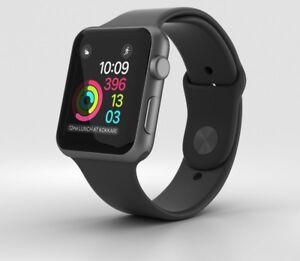 7fc610b444f Apple Watch Series 1 42mm WiFi GPS Aluminum Case Sport Band ...