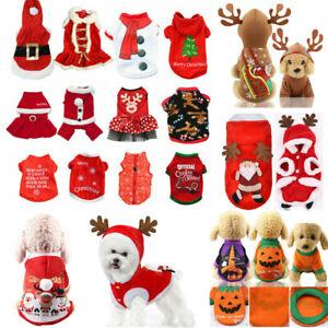 2019-Noel-Halloween-Puppy-Chien-Chat-Vetements-Santa-Manteau-Pet-Apparel-costumes