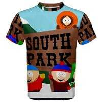 New South Park Sublimation Men's Sport Mesh Tee T-Shirt Size S M L XL 2XL 3XL