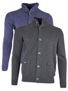 blu in grigio di Legend maglia cotone Maglione Pme cardigan Uomo w1BqnIxAz