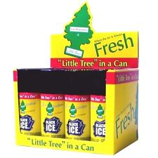 Little Trees Car Home Air & Car Freshener 6 Bottles Spray 2.5oz Black Ice scent
