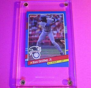 Ken Griffey Jr. 1991 Donruss #49 (ERROR CARD) Seattle Mariners All Star