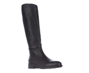 Sam Edelman Women's Ryan Riding Black Boots 7868 Size 8.5 M