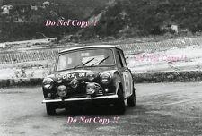 Paddy Hopkirk Mini Cooper S GRX 91B Monte Carlo Rally 1965 Photograph 1