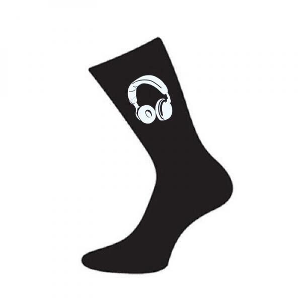 Casque design homme cadeau chaussettes noires disc jockey noël anniversaire cadeau homme 1a6e3d