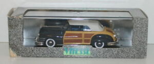 Vitesse-1-43-491-CHRYSLER-TOWN-amp-COUNTRY-chiuso-Cabriolet-Blu
