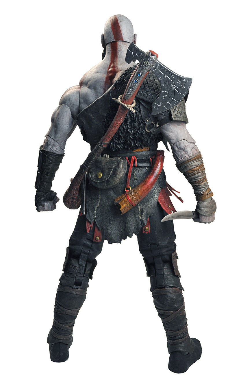 God of War 2018 7″ Scale 18 cm cm cm Kratos from Sony Videogame Action Figure NECA 4f8798