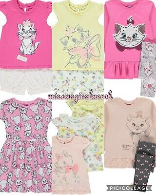 Disney Baby Girls Aristocats Marie Pyjamas 2 Pack Newborn to 6 Months BNWT