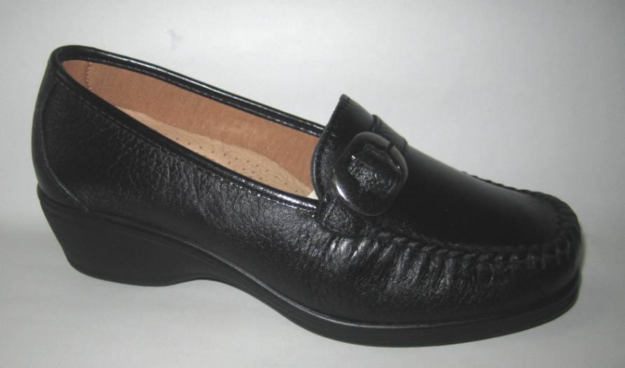Zapatos especiales con descuento Benexa Donna 2814 Mocassino Plantare Estraibile Nappa Nero dal n.36 al 40