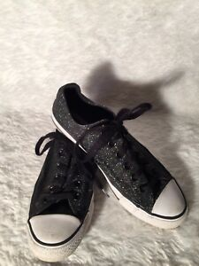9f5a7ed4cddc Image is loading Converse-All-Star-Black-Glitter-Shoes-Men-4-