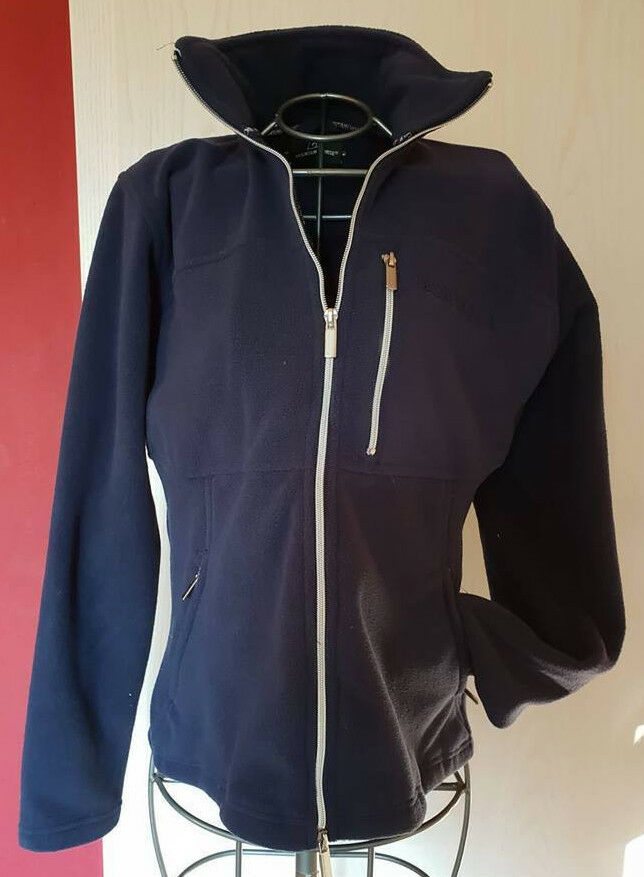 Mountain Horse Fleece Jacket Navy Blau NEW  Größe M