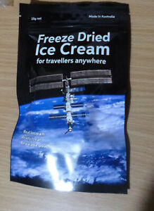 FREEZE-DRIED-Vanilla-ICE-CREAM-ideal-CAMPING-HIKING-FISHING-for-TRAVELLERS