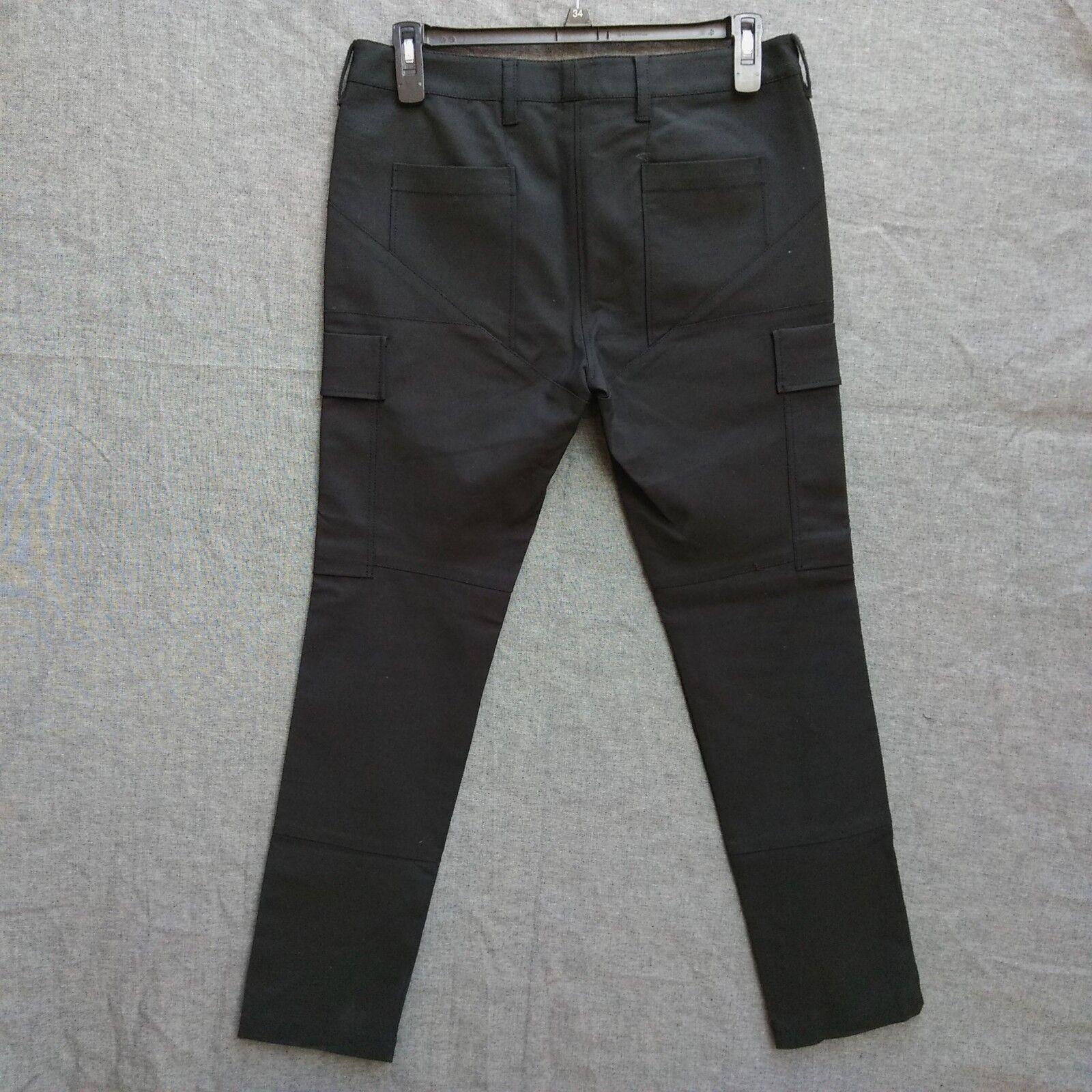 3.1 Phillip Lim Pantalon Cargo schwarz Größe 10