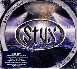 Styx-rigenerazione-volume-I-amp-II-DIGIPACK-2cd-NUOVO-OVP-SEALED
