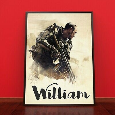 CALL OF DUTY Personalised Poster A4 Print Wall Art Banner Any Name