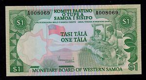 WESTERN-SAMOA-1-TALA-1980-A-PICK-19-UNC
