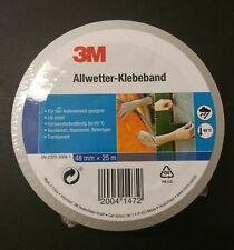 3M ®  Allwetter Klebeband,48mmx20m,Transparent,NEU!Grundpreis 0,19€//m