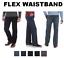 Nouveau-Wrangler-Performance-Series-Regular-Fit-Comfort-Flex-ceinture-Jeans-Homme miniature 1