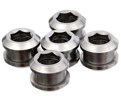 J/&L Titanium Single ChainRing Bolt-for Sugino,Shimano,Brompton,SRAM-Fixed Gear