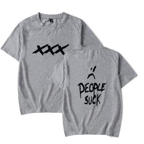 XXXTentacion RIP Memorial T-shirt Hip Hop Rapper Merch  Revenge Tee Mens Top 04