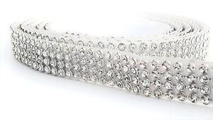 Strassssteine-selbstklebend-Strassband-mit-4-Reihen-Strass-3mm-Rolle-Borte