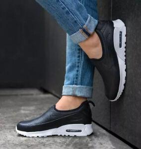 Nike Women's Air Max 90 Ultra 2.0 Ease Black Size 4 Uk 37.5 Eu ...