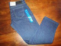 Rogue State Men's Classic Straight Leg Dark Denim Blue Jeans Size 36x30