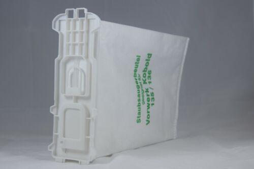 Filter passt für Vorwerk Kobold 135 Tüten Beutel Kabel Bürsten Duft