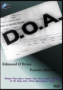D-O-A-Starring-Edmond-O-039-Brien-and-Pamerla-Britton-Film-Noir-Thriller