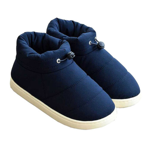 Cotton Down Slippers Shoes Bootees Boots Footwear Camping Cover Feet Warm