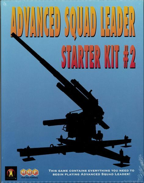 Advanced Squad Leader ASL Starter Kit Guns, Wargame, New by MMP, English