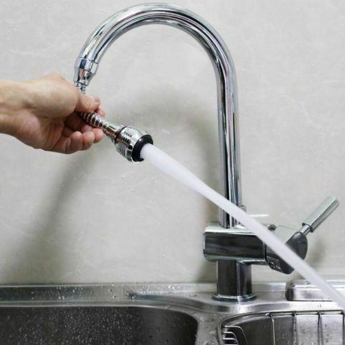 360-Degree Rotating Filter Mesh Nozzle Water Saver Faucet Bubbler BIASTNR Faucet Bubbler Kitchen Faucet Shower Nozzle