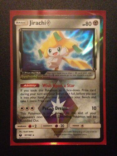Jirachi Pokemon TCG: Celestial Storm Prism Rare Cards Latios and Latias