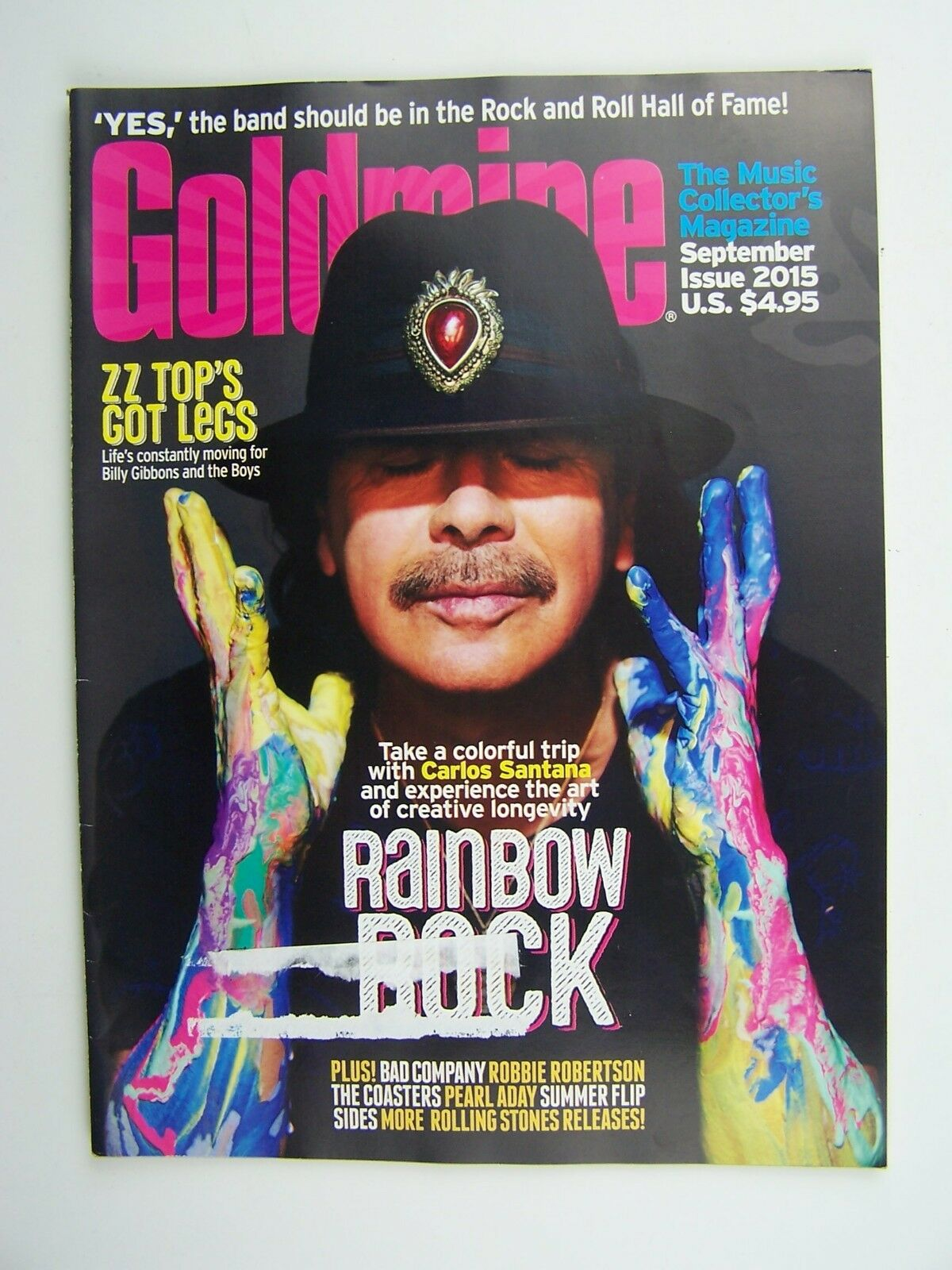 Goldmine The Music Collector's Magazine September 2015