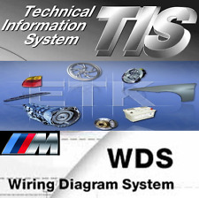 BMW TIS 2008, ETK 2017, WDS V 12.0, E60 E38 E81 E90 E63 E65 E66 R50 etc. Mini