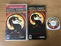 Mortal Kombat: Unchained (Sony PSP, 2006) - European Version