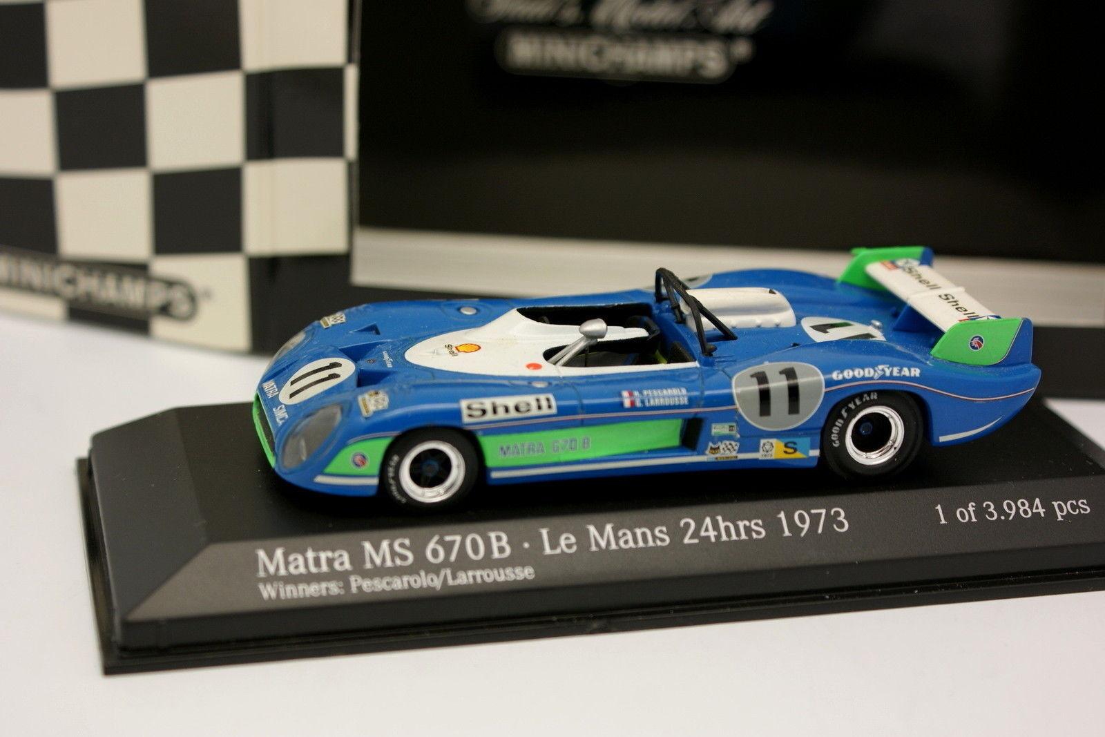 Minichamps 1 43 - Matra Simca MS670B Le Mans 1973 n°11