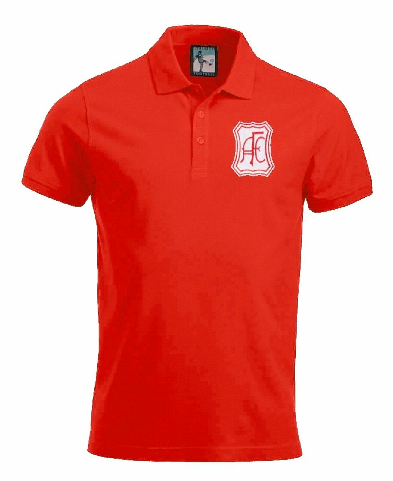 Aberdeen 1965 Football Polo Sizes S-XXXL Embroidered Logo
